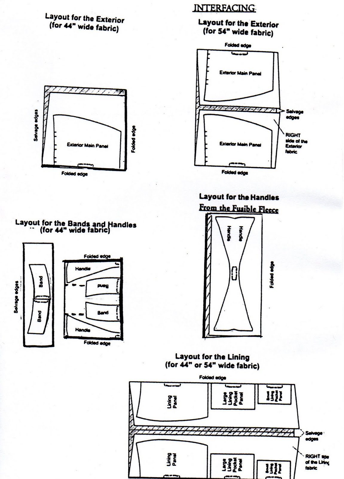 Sling Bag Pattern Free Download : little cut and paste job I know it could be cleaner but I m not