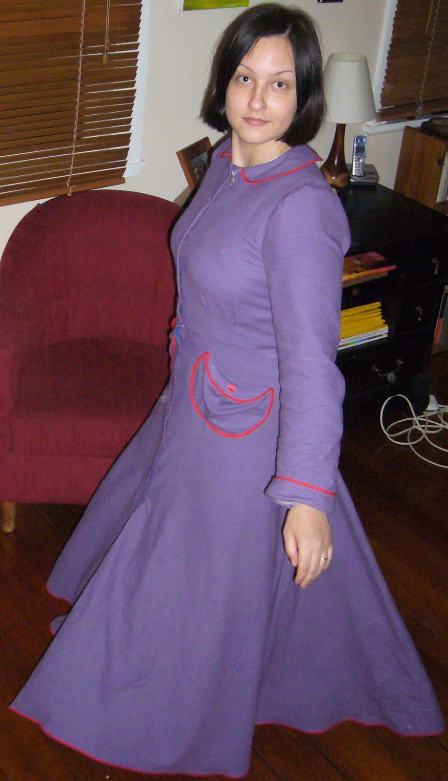 finished object housecoat 1939 or my answer to the snuggie 3