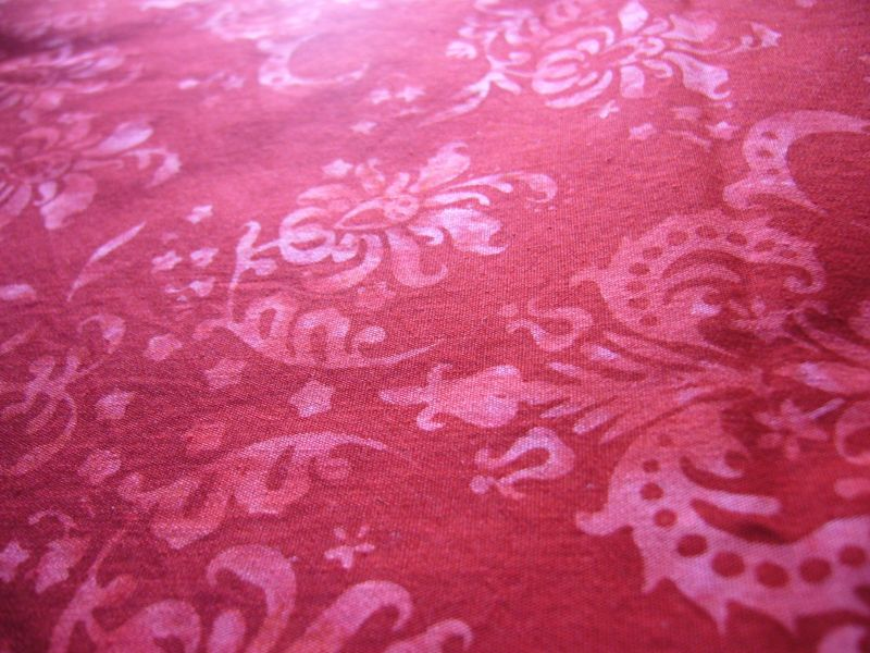 Red Batik Cotton Summer11