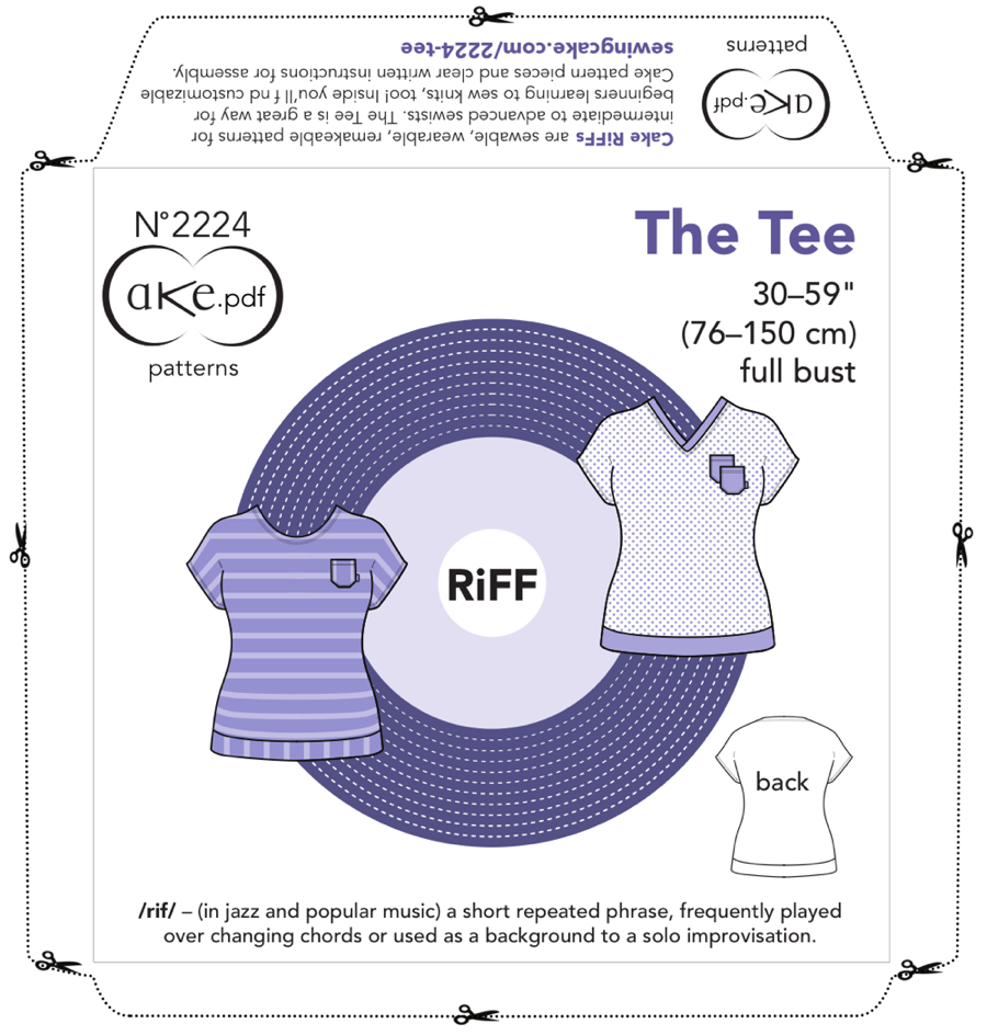Nº2224 The Tee pdf frontx