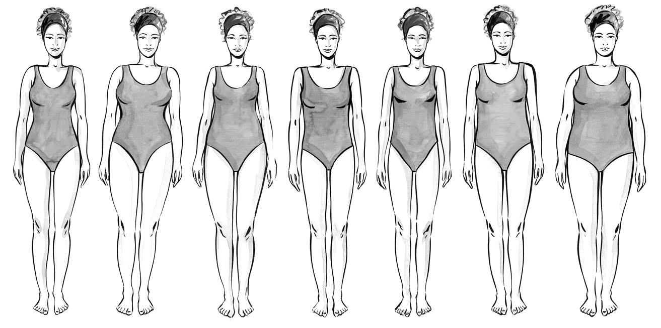 Different Types of Women Body Shapes