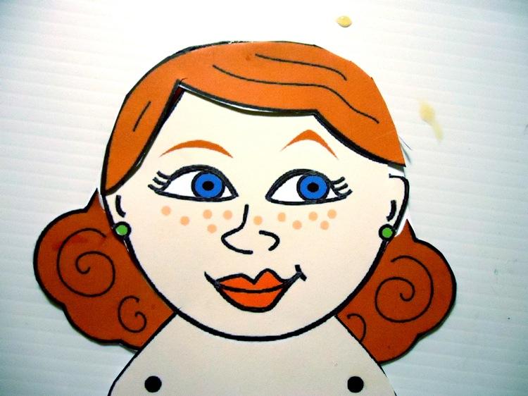 Esme Paper Doll