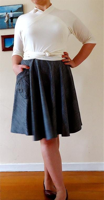 Etsy | Pavlova Wrap Top & Skirt | Front View