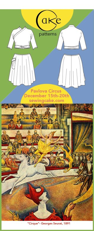 Pavlova Circus And Pre-Sale | Dec 15-20 | Cake Patterns