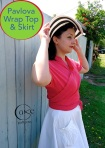 Pavlova Wrap Top 7 Skirt | Side View | Presale December 15-20 | Cake Patterns