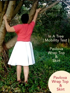 Pavlova Wrap Top & Skirt | In A Tree 0