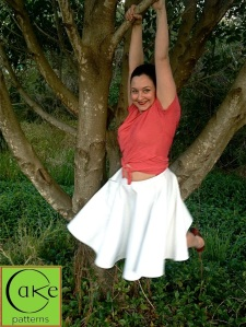Pavlova Wrap Top & Skirt | In A Tree 7