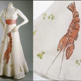 Schiaparelli's 1937 Lobster Dress