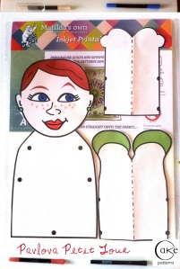 Raw Inspiration | Inkjet Printable Fabric Sheets | 21st Century Doll | Old School Doll | Jointed Paper Doll