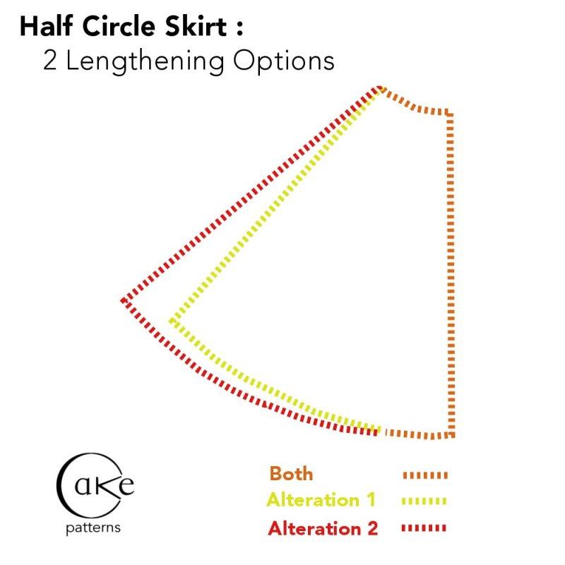 Skirt Drape Experiment | Comparison Shot 2 | 3 Hours Past
