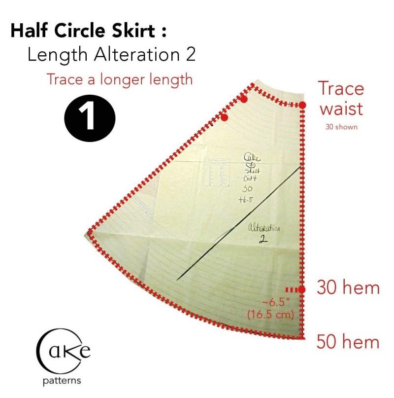 Skirt Drape Experiment | Lengthening Alteration 2 | 3 Hours Past