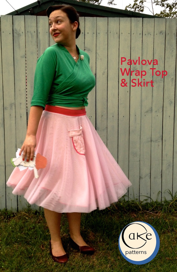 Wintergreen Pavlova | Tulle Pavlova | 2 | Cake Patterns