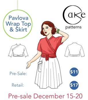 Pavlova Wrap Top | Cake Patterns