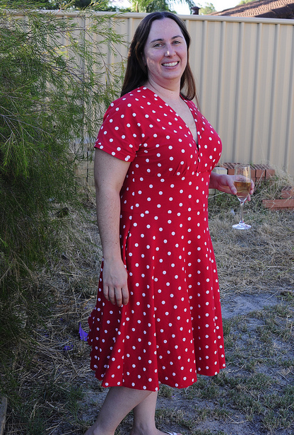 Check out Ali's red polka dot Tiramisu!  What fun!  (Fwiw, Ali, I think the fit looks great!)