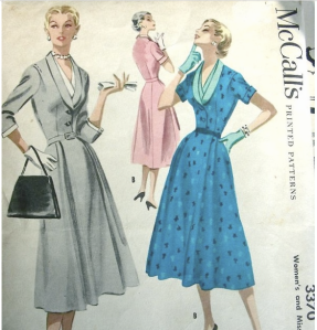 I have this pattern and a favorite black dress made from it.  Very sharp.