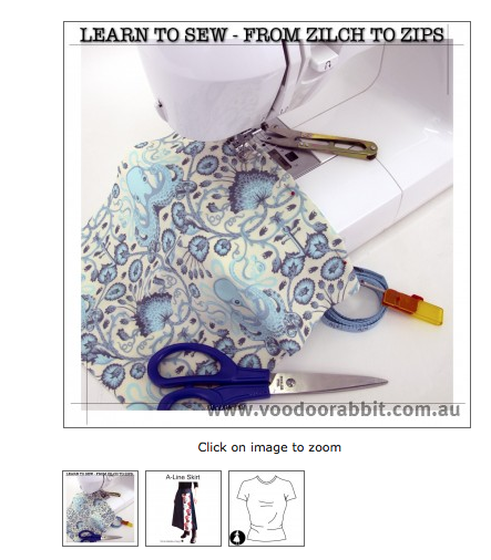 From Zilch to Zips Beginner's Sewing | Voodoo Rabbit | StephC