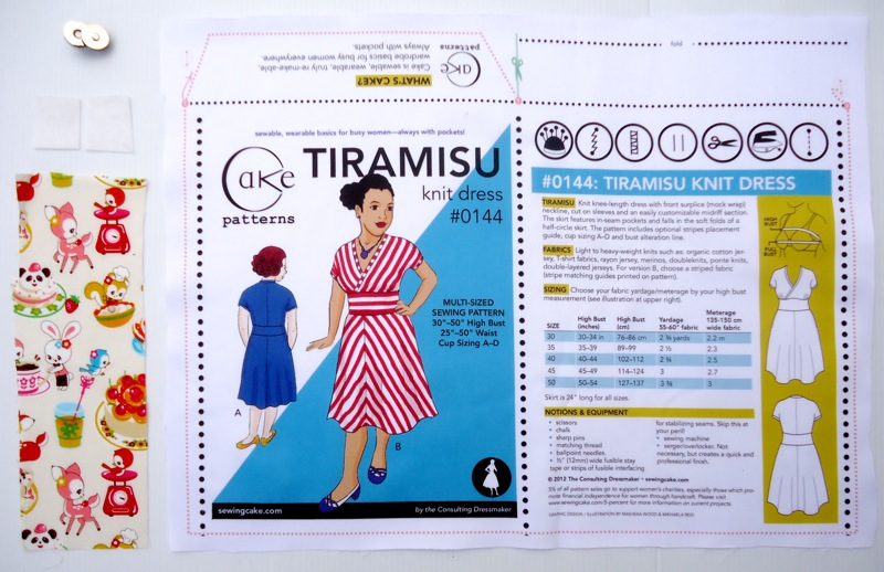 Tiramisu Envelope Kit Contents