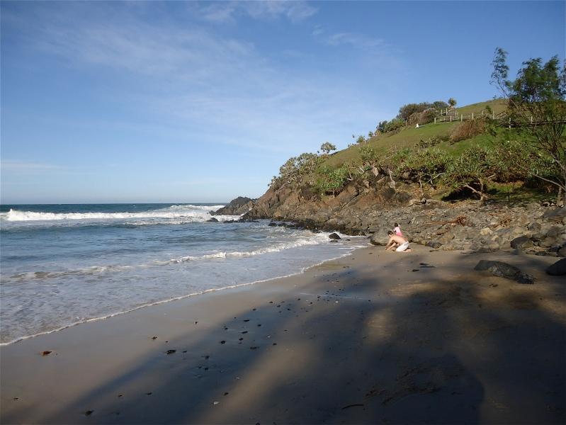 Cabarita Beach Combing