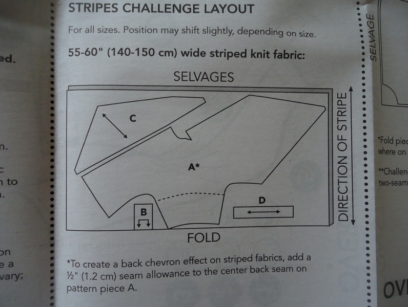 extra: stripes challenge layout