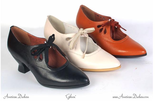 Gibson Shoes   American Duchess