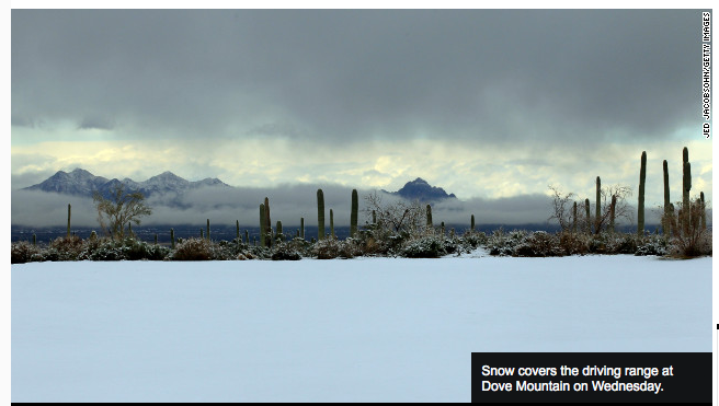 click for source. This is from the same storm, photo at Dove Mountain.  Pretty.