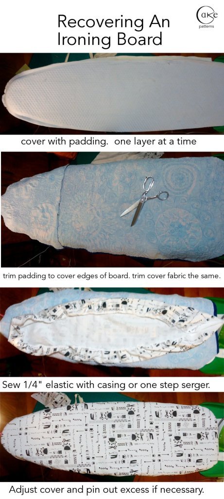 Recovering an Ironing Board Brief