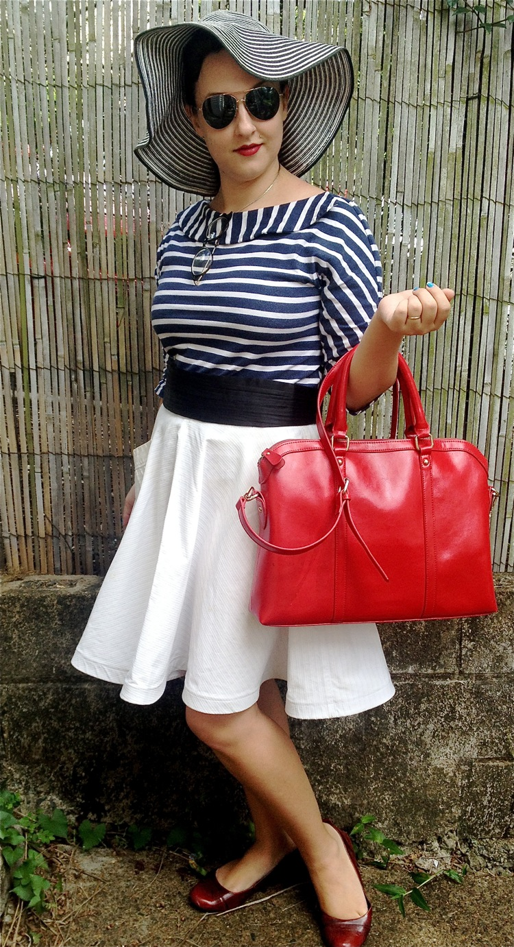 Red Leather Bag 1