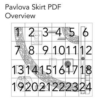 Pavlova Skirt Overview