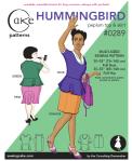 Hummingbird Peplum Top & Skirt