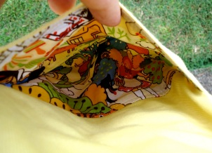 Pocket Fat Quarter- $5