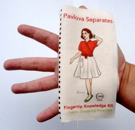Fingertip Knowledge Swatch Kit $5.50