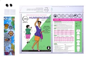 Hummingbird Oragnic Cotton Envelope Sleeve Kit $6.55 presale price