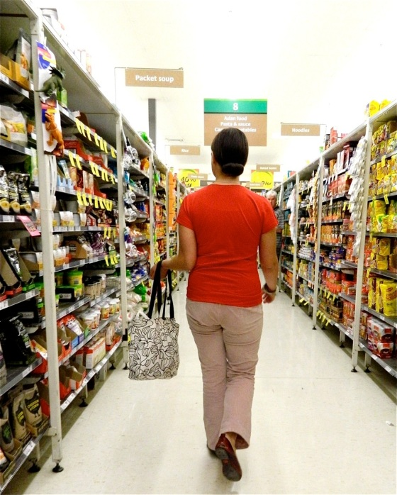 ...one of my favorite recent photos... Why have we never taken photos in the grocery?