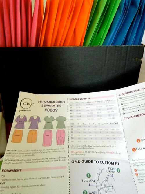 Pink, Orange, Blue, and Green Envelopes