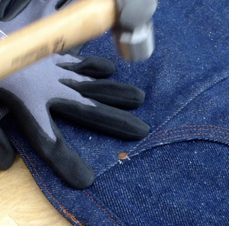 Sewing with Hammers