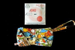 Red Velvet mini Clutch Nº4444 free pattern
