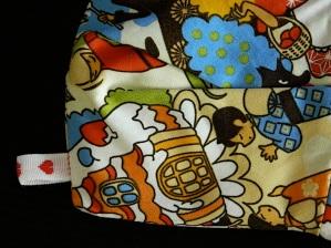 Red Velvet mini Clutch Nº4444 free pattern